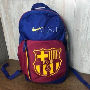 Nike Stadium Backpack FC Barcelona Blue Unisex